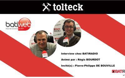Batiweb interview Pierre-Philippe de Bouville, cofondateur de Tolteck