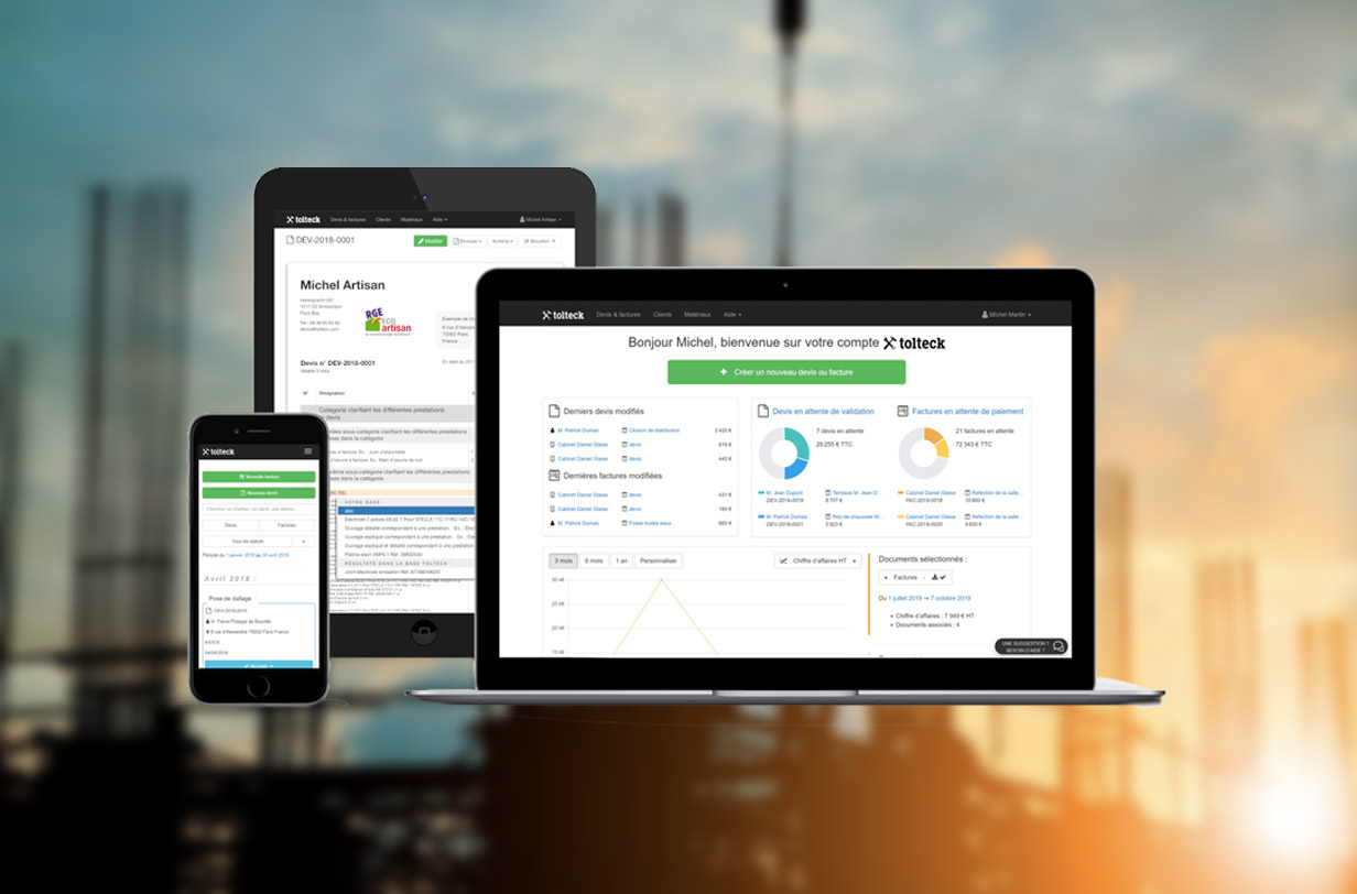 BTP : les avantages d'un logiciel de facturation dédié au secteur du bâtiment